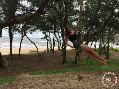 Poledance auf Hawaii