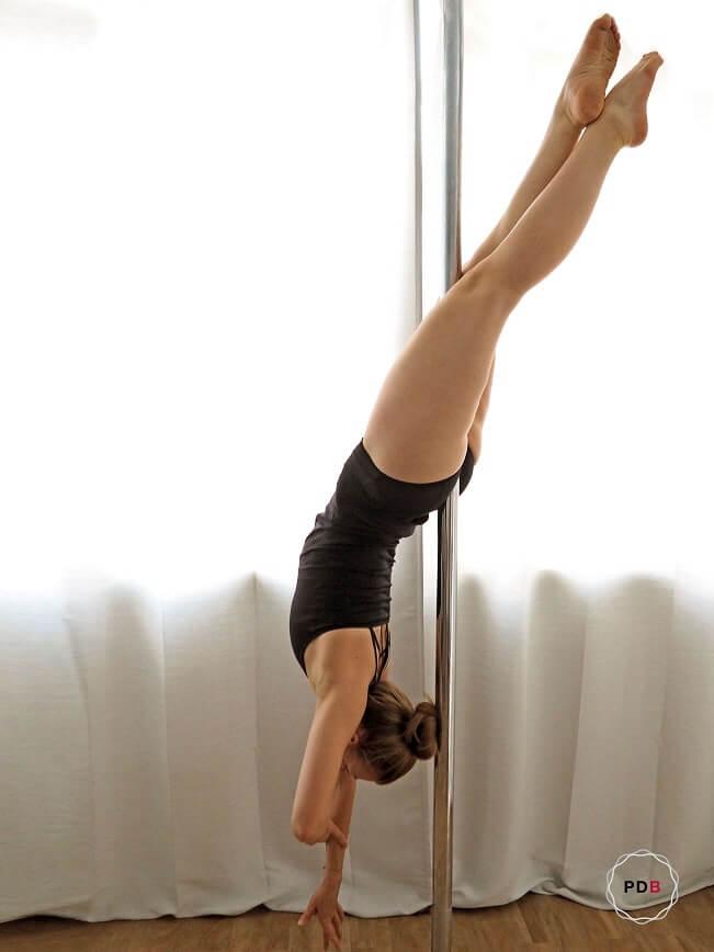 Poledance Cross Ankle Release