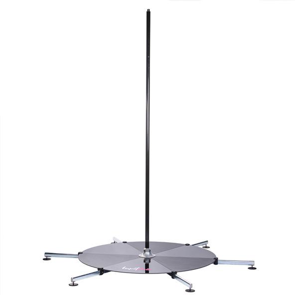 Poledance Stange Lupit Stage Pulver Long Leg